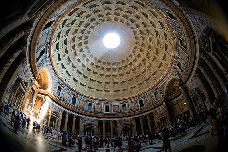 Pantheon daylight